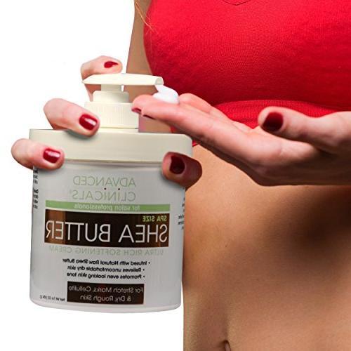 Advanced Shea Butter Softening Cream.