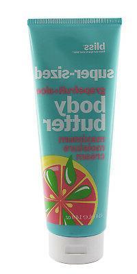 Bliss Super Sized Grapefruit & Aloe Body Butter 14.0 oz New