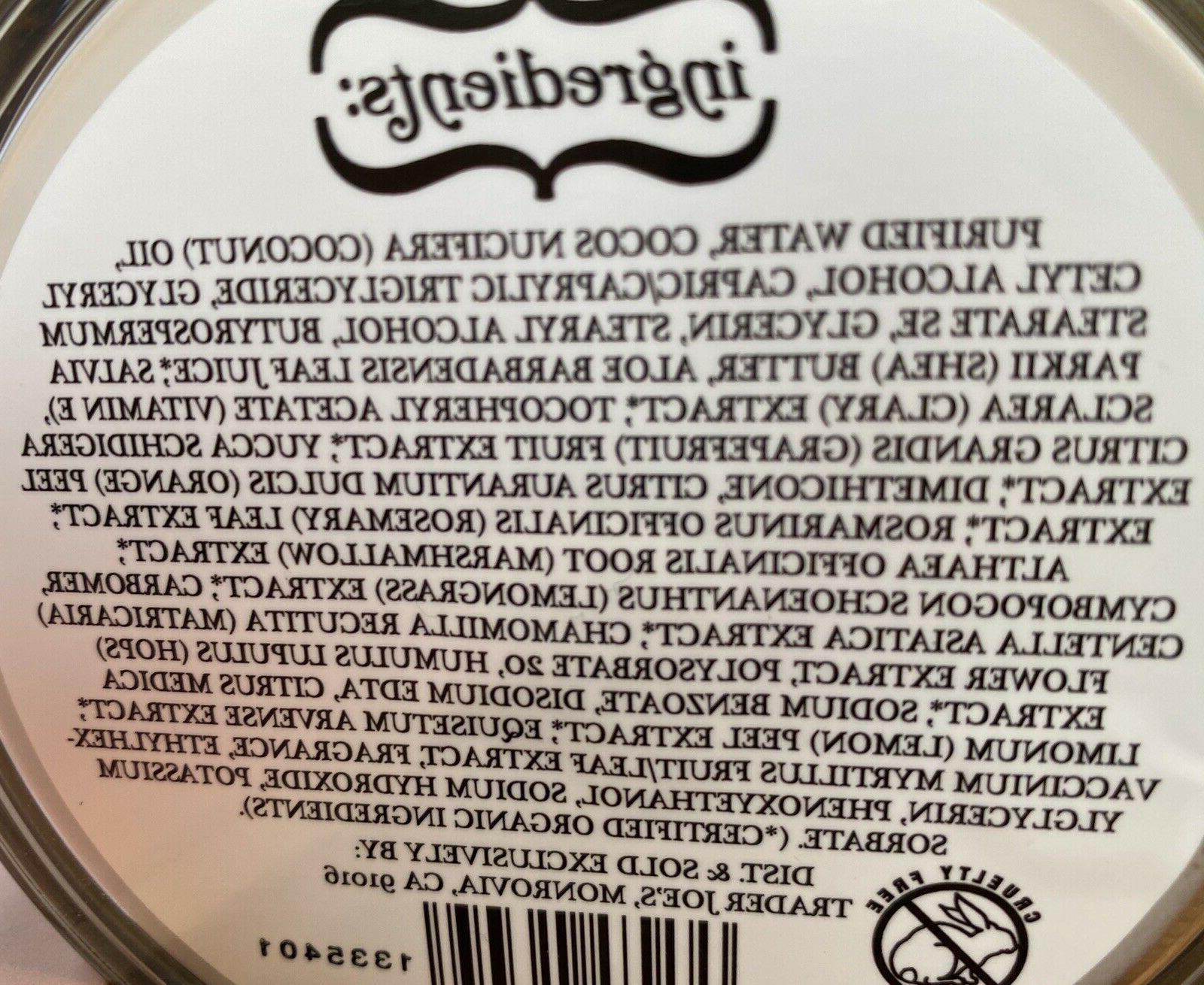 trader butter Cream w Coconut oil,Shea Vit