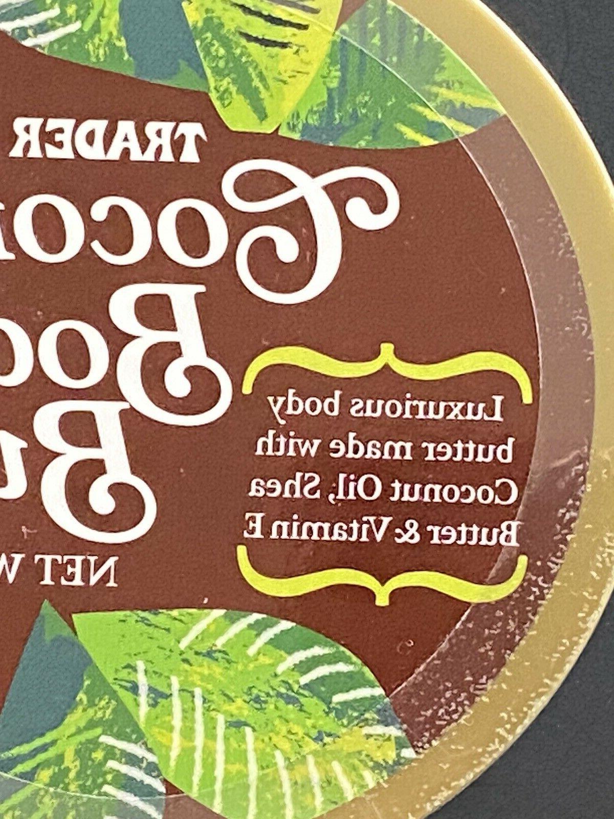trader body butter Cream made Coconut oil,Shea Butter& E