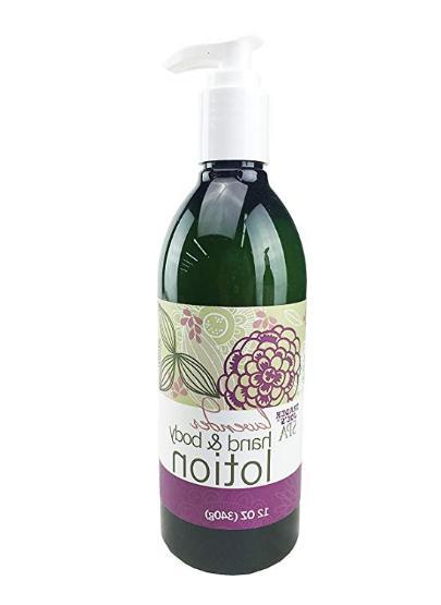Trader Joe's Spa Lavender Hand & Body Lotion 12 oz bottle Fa