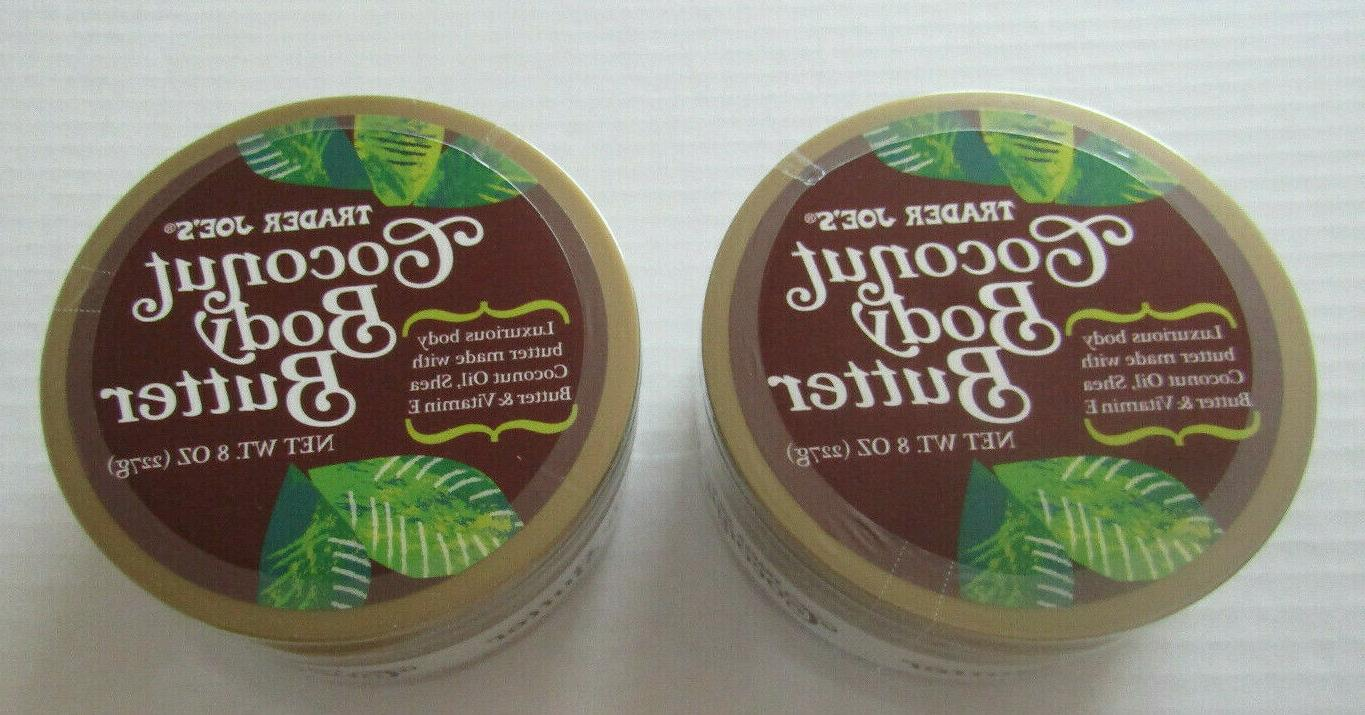 trader joes coconut body butter lot of