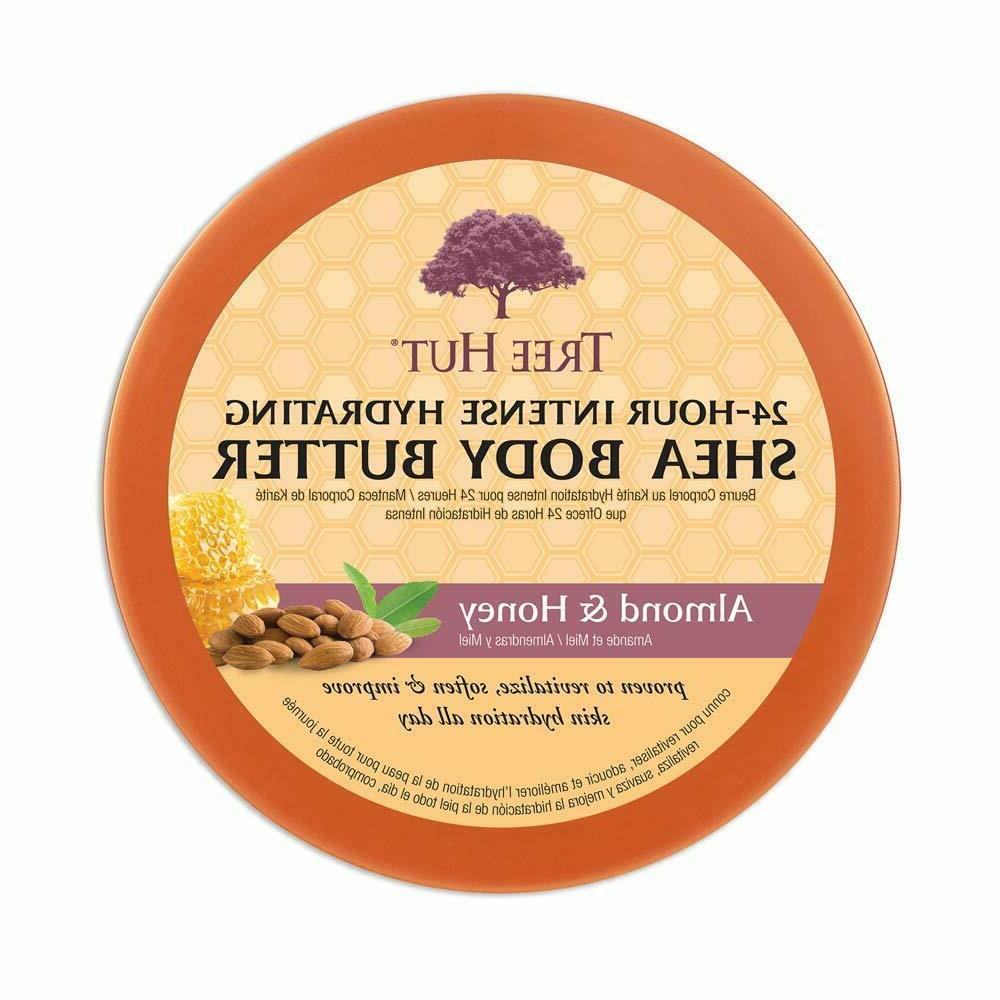 Tree Hut 24 Hour Intense Hydrating Shea Body Butter, 7oz