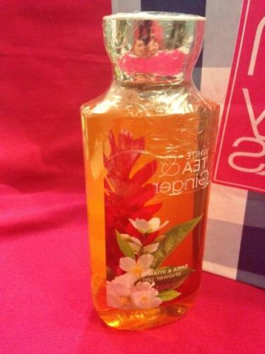 SALE! Bath and Body Works White Tea & Ginger Shower Gel 10 o