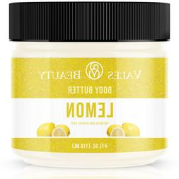 Lemon Essential Oil 4 oz Body Butter With Organic Shea Butte