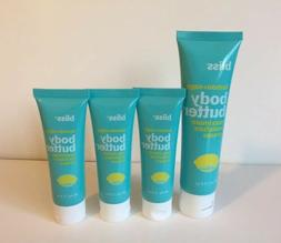 Bliss Lemon + Sage Body Butter Maximum Moisture Cream Lot 5