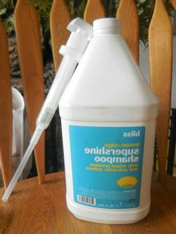 Bliss Lemon+Sage Body Butter Supershine Shampoo Gallon Size