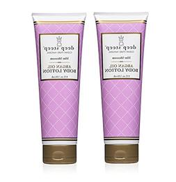Deep Steep Lilac Blossom Body Lotion with Argan Oil and Shea