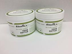 Lot 2 New Sealed C. Booth Body Butter, Italian Olive Oil, 8