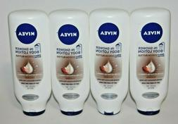 LOT  NIVEA IN-SHOWER BODY LOTION COCOA BUTTER FOR VERY DRY S