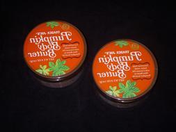 Lot of 2 Jars Trader Joe's Pumpkin Body Butter 8 oz Limite
