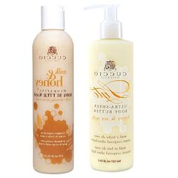 Cuccio Naturale Duo Lyte Ultra-Sheer Body Butter and Wash Mi