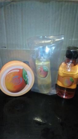 The Body Shop Mango Body Butter, Mist and Shower Gel Lot