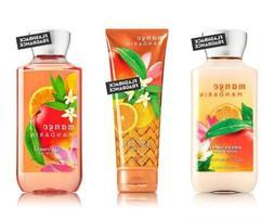 Bath & Body Works Mango Mandarin Body Cream, Shower Gel and
