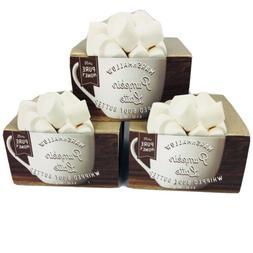 2 Bath & Body Works Marshmallow Pumpkin Latte Whipped Body B