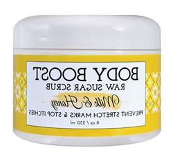 Body Boost Milk & Honey Sugar Scrub 8 oz- Pregnancy & Nursin