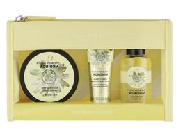 The Body Shop MORINGA Collection 3 Pc  Set Hand Cream Shower
