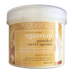 Cuccio Naturale Milk and Honey Hydrating Non-Oily Massage Cr