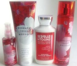 NEW BATH & BODY WORKS JAPANESE CHERRY BLOSSOM LOTION SHEA BU
