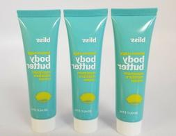 New Bliss Body Butter  Lemon + Sage SEALED TUBES Free Shippi