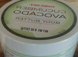 NEW IN SEALED JAR! Trader Joe's Cucumber Avocado Body Butter