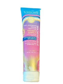 NEW Pacifica Mineral SPF 50 Bronzing Body Butter Coconut Sun