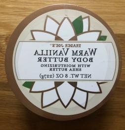 New Sealed Trader Joe's Warm Vanilla Body Butter 8oz