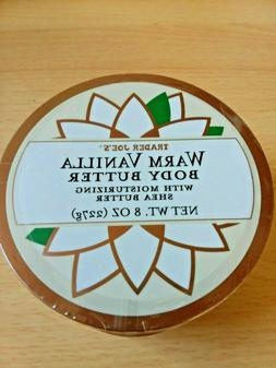 NEW! Unopened Trader Joe's Warm Vanilla 8oz Body Butter