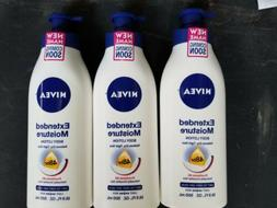 NIVEA COCOA BUTTER 16.9 oz Body Lotion LOT OF 3