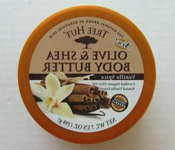 Tree Hut Olive & Shea Body Butter Vanilla Spice 7 oz. Tub