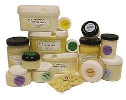Organic Butters 100% Pure RAW Fresh Natural Premium Skin Car