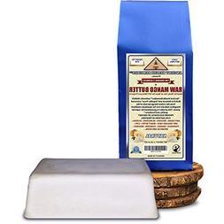 Organic Unrefined Raw MANGO BUTTER 1 LB  BLOCK Best Price Hi