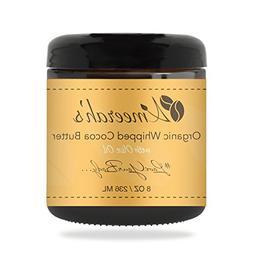 Organic Whipped Cocoa Body Butter & Olive Oil | Body Moistur