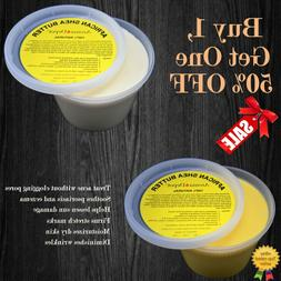 Raw African Shea Butter 1 lb. / 16 oz. 100% Pure Natural Unr
