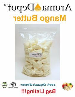 Raw Mango Butter Unrefined Organic Natural 100% Pure Raw Top