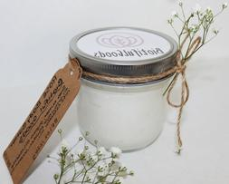 Rose Whipped Body Butter, Vegan, Minimal Waste, Lotion, Dry