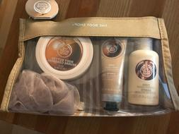 The Body Shop Shea Collection 4 Pc Gift Set Hand Cream Showe