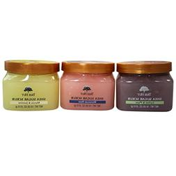 Tree Hut Shea Sugar Body Scrub Assorment Trio Gift Set; Cert