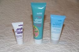BLISS SKINCARE LOT - Body Butter Fabulous Makeup Melt Firm B
