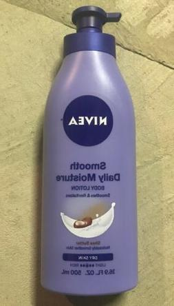 NIVEA Smooth Daily Moisture Body Lotion 16.9 Fluid Ounce