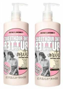 Soap & Glory The Righteous Butter Body Lotion x 500ml 2packs