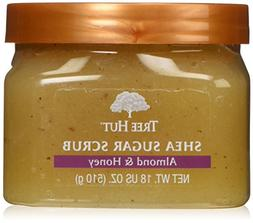 Tree Hut Sugar Body Scrub 18 Ounce Almond And Honey Shea