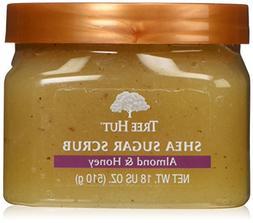 Tree Hut Sugar Body Scrub 18 Ounce Almond And Honey Shea