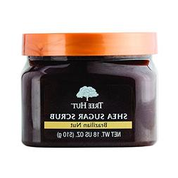 Tree Hut Sugar Body Scrub 18 Ounce Brazilian Nut Shea