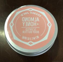 Trader Joe's Almond Honey Scented Body Butter 3oz