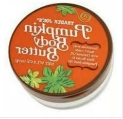 Trader Joe's Pumpkin Body Butter 8 oz Jar Limited Edition- S