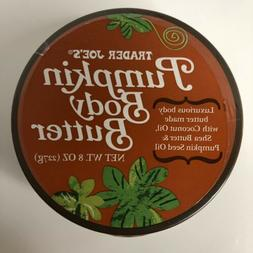 Trader Joe's Pumpkin Body Butter 8 oz  Jar NEW SEALED