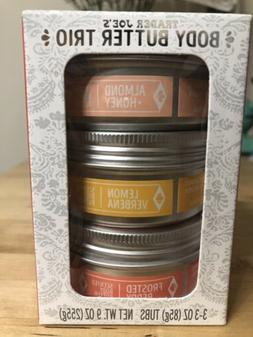 🌺Trader Joe's Hand & Body Butter Trio Pack Coconut 🥥