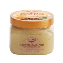 Tree Hut Shea Sugar Body Scrub, Almond & Honey, 18-Ounce Jar