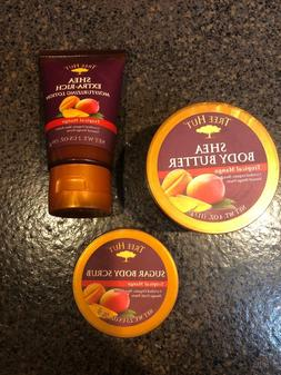 Tree Hut Tropical Mango gift set - Body Butter, Lotion, Suga